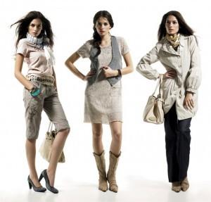 Женские одежда.